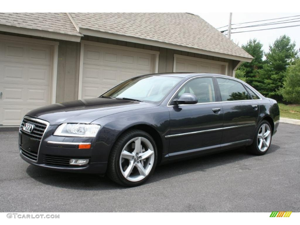 2008 oyster gray metallic audi a8 l 4 2 quattro 31038368 car color galleries. Black Bedroom Furniture Sets. Home Design Ideas