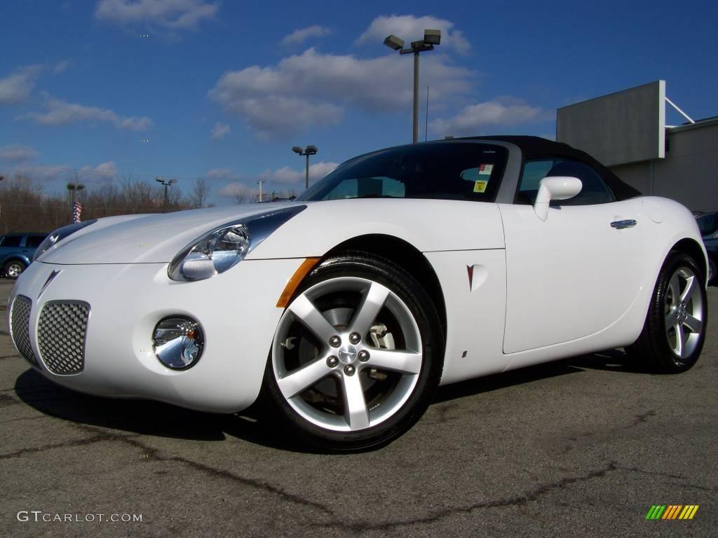 2008 Pure White Pontiac Solstice Roadster 3090736