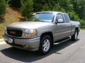 Pewter Metallic 2001 GMC Sierra 1500 C3 Extended Cab 4WD