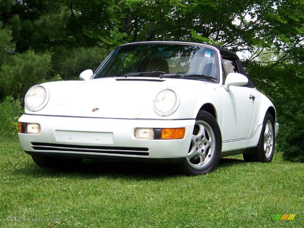 1992 grand prix white porsche 911 carrera 4 cabriolet 31073590 car color galleries. Black Bedroom Furniture Sets. Home Design Ideas