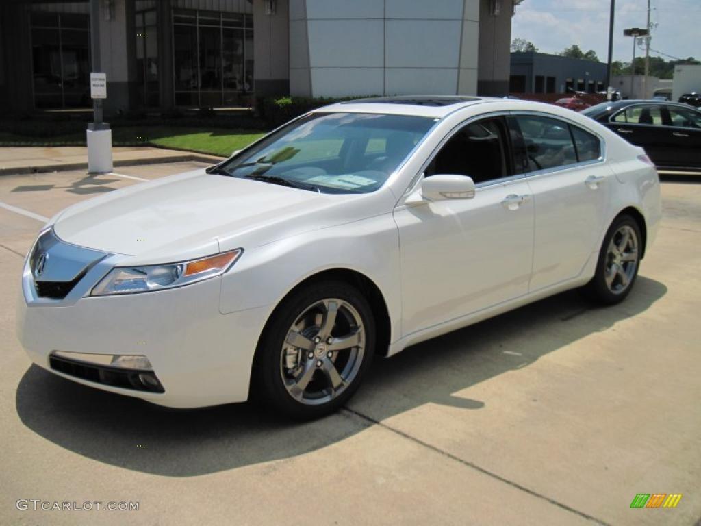 2010 White Diamond Pearl Acura TL 3.5 Technology #31080199 ...