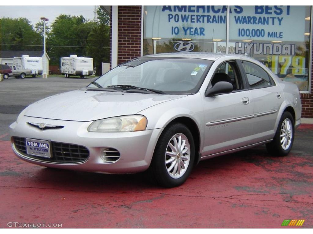 2001 Bright Silver Metallic Chrysler Sebring Lx Sedan 31079470