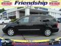Galaxy Black 2007 Hyundai Entourage Limited
