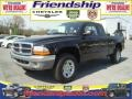 2004 Black Dodge Dakota SLT Club Cab 4x4  photo #2