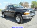 2004 Black Dodge Dakota SLT Club Cab 4x4  photo #15