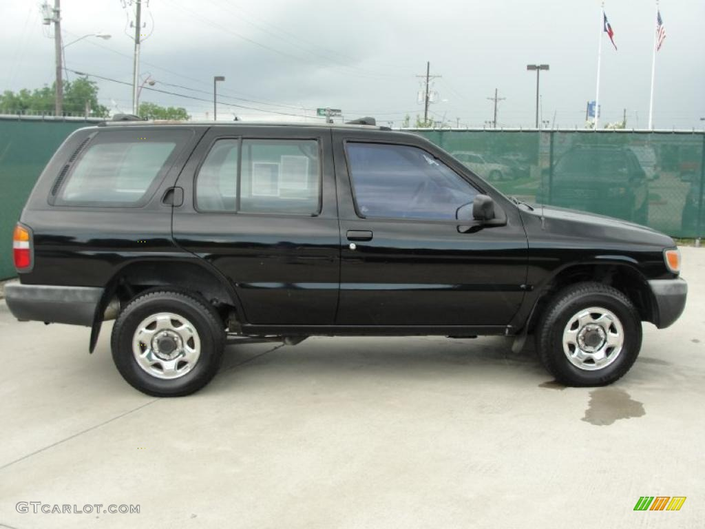1996 super black nissan pathfinder xe 4x4 31080063 photo. Black Bedroom Furniture Sets. Home Design Ideas