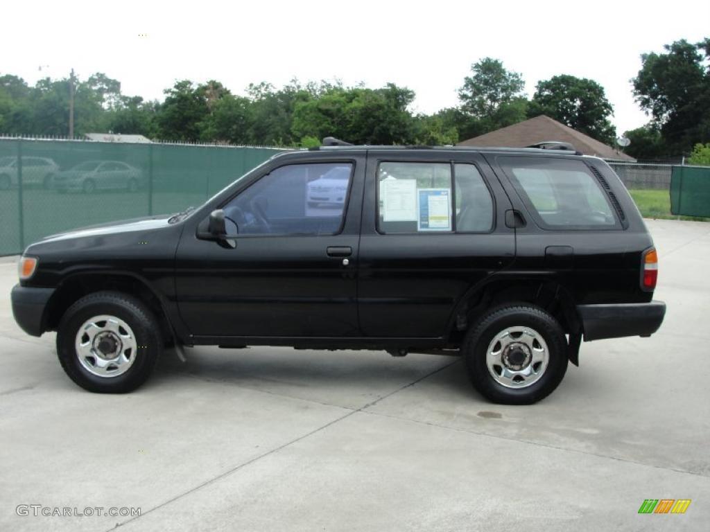 1996 super black nissan pathfinder xe 4x4 31080063 photo. Black Bedroom Furniture Sets. Home Design Ideas