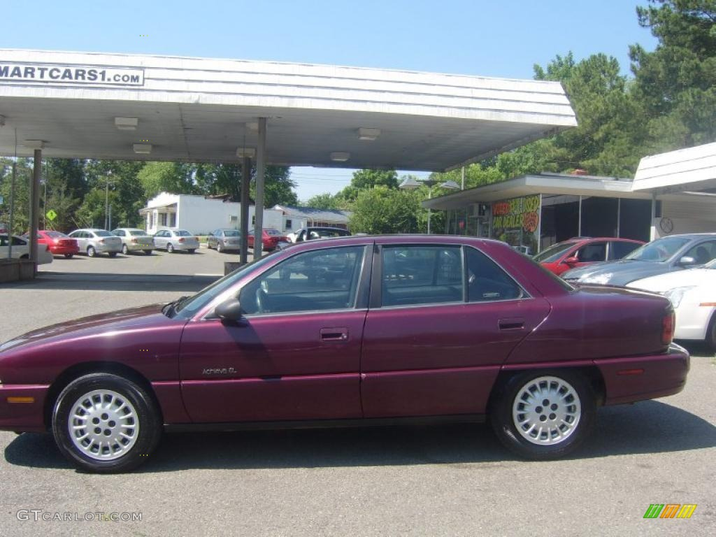 1996 dark cherry metallic oldsmobile achieva sl sedan 31144998 photo 5 gtcarlot com car color galleries gtcarlot com