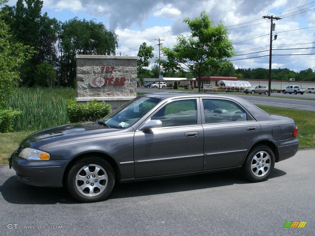 2001 moonlight gray metallic mazda 626 es 31145247 gtcarlot com car color galleries gtcarlot com