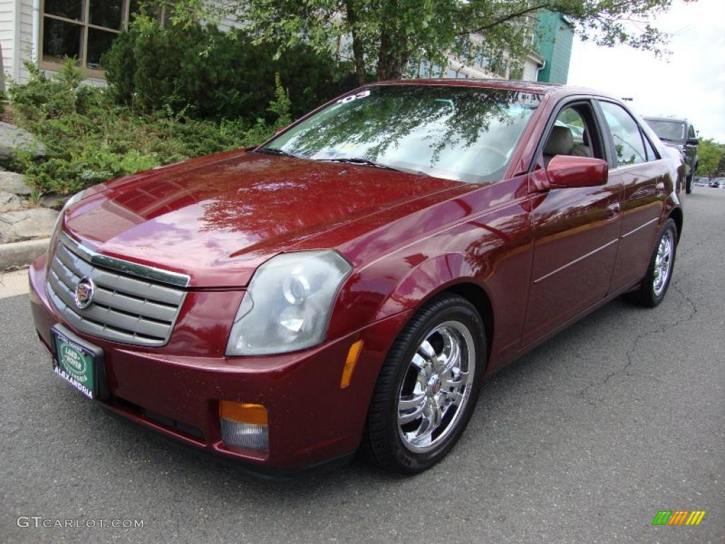 2003 garnet red cadillac cts sedan 31145471 gtcarlot. Black Bedroom Furniture Sets. Home Design Ideas