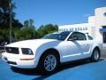 2006 Performance White Ford Mustang V6 Premium Coupe  photo #1