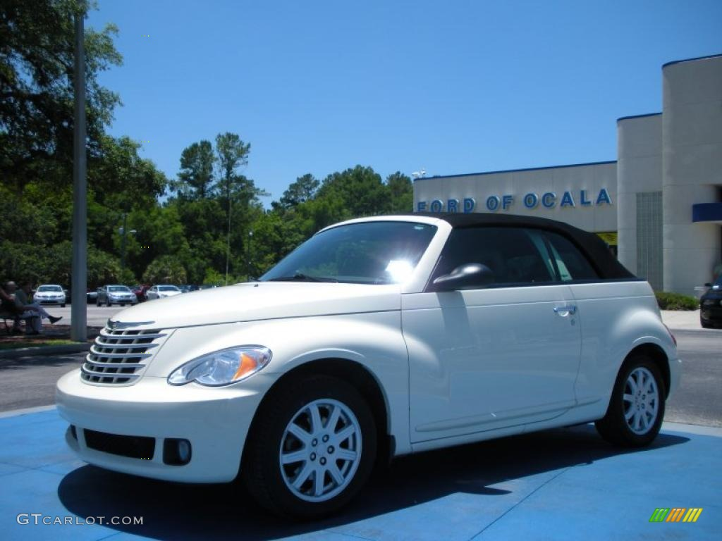 Cool Vanilla White Chrysler Pt Cruiser Convertible