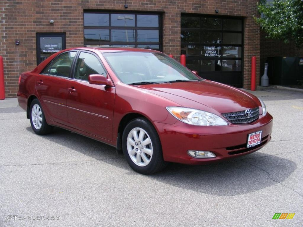 2003 salsa red pearl toyota camry xle 31144906 car color galleries. Black Bedroom Furniture Sets. Home Design Ideas