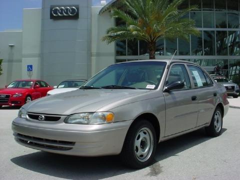 2000 Toyota Corolla VE Data, Info And Specs