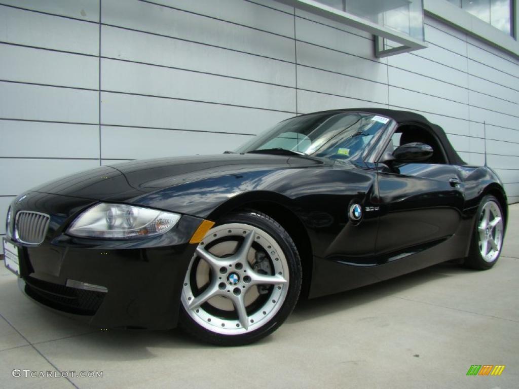2007 Black Sapphire Metallic Bmw Z4 3 0si Roadster
