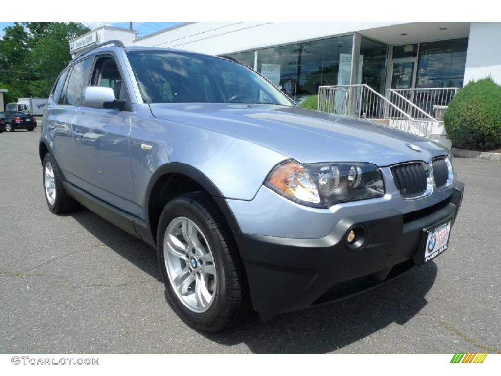 2005 blue water metallic bmw x3 31144990 car color galleries. Black Bedroom Furniture Sets. Home Design Ideas