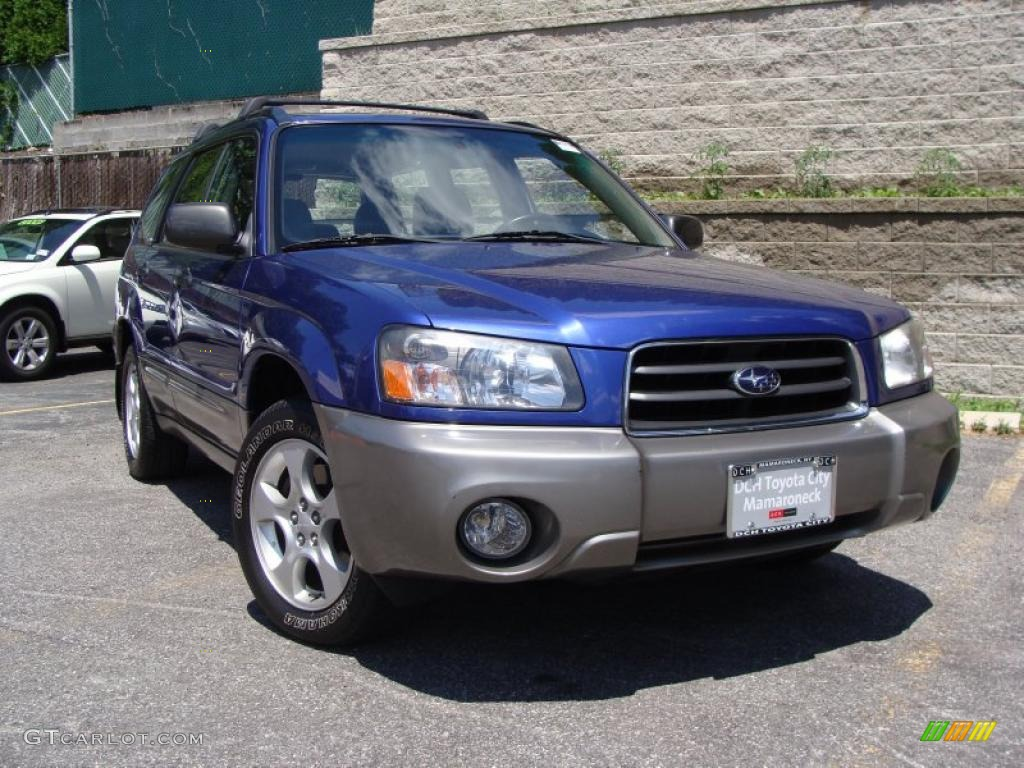 2004 pacifica blue pearl subaru forester 2 5 xs 31145661 car color galleries. Black Bedroom Furniture Sets. Home Design Ideas