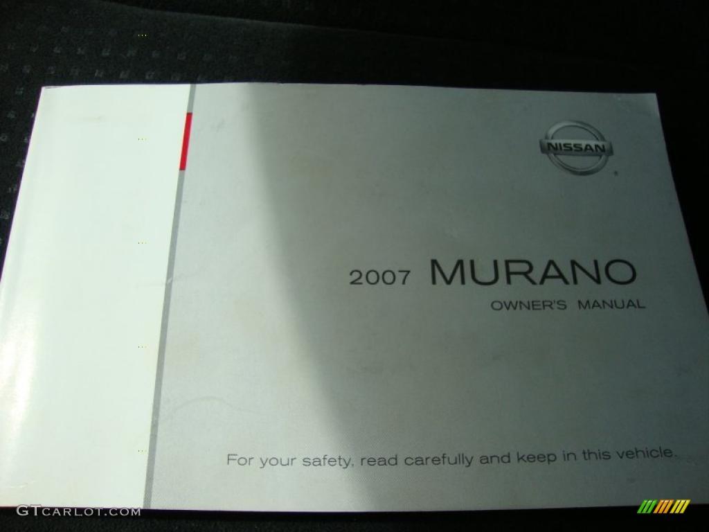 2007 Murano S AWD - Brilliant Silver Metallic / Charcoal photo #39