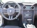 2007 Satin Silver Metallic Ford Mustang V6 Deluxe Convertible  photo #6