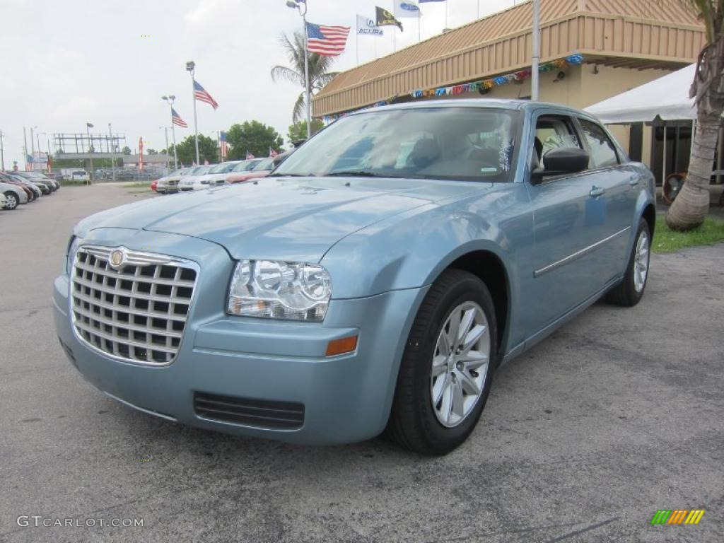 2008 Clearwater Blue Pearl Chrysler 300 Lx 31204539
