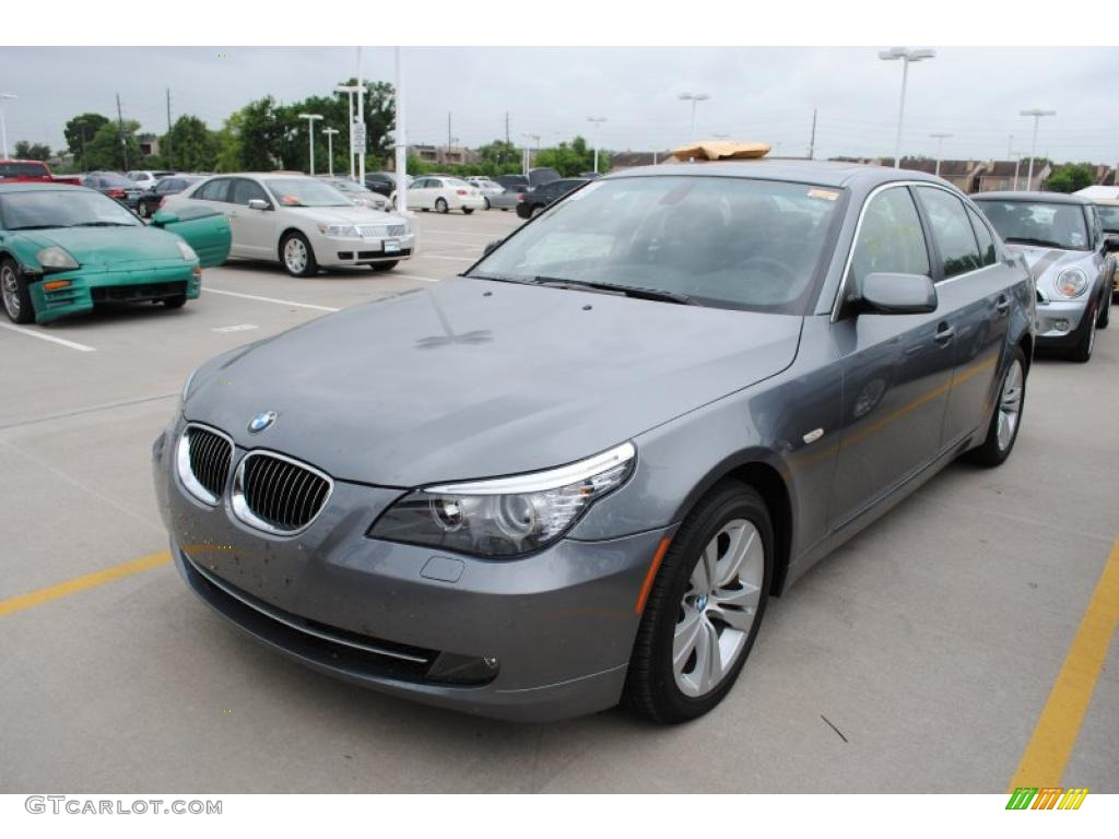 2009 space grey metallic bmw 5 series 528i sedan 31204563. Black Bedroom Furniture Sets. Home Design Ideas