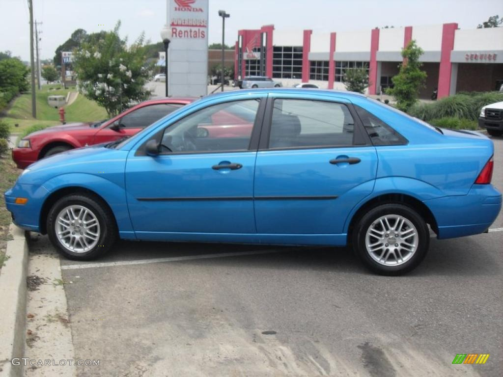 2007 aqua blue metallic ford focus zx4 se sedan 31204318 car color galleries. Black Bedroom Furniture Sets. Home Design Ideas