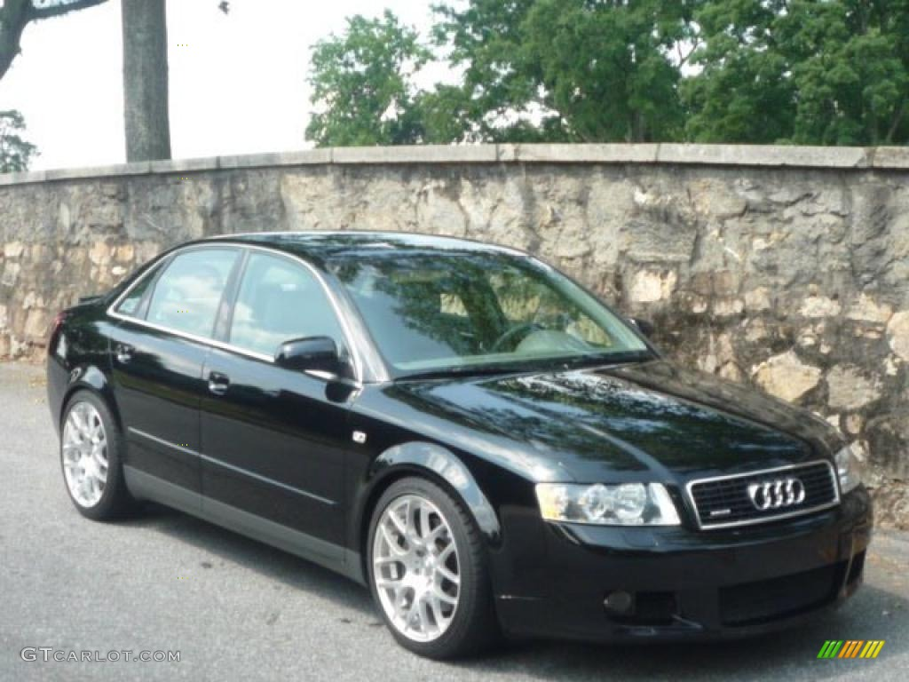Brilliant Black Audi A Quattro Sedan GTCarLot - 2003 audi a4