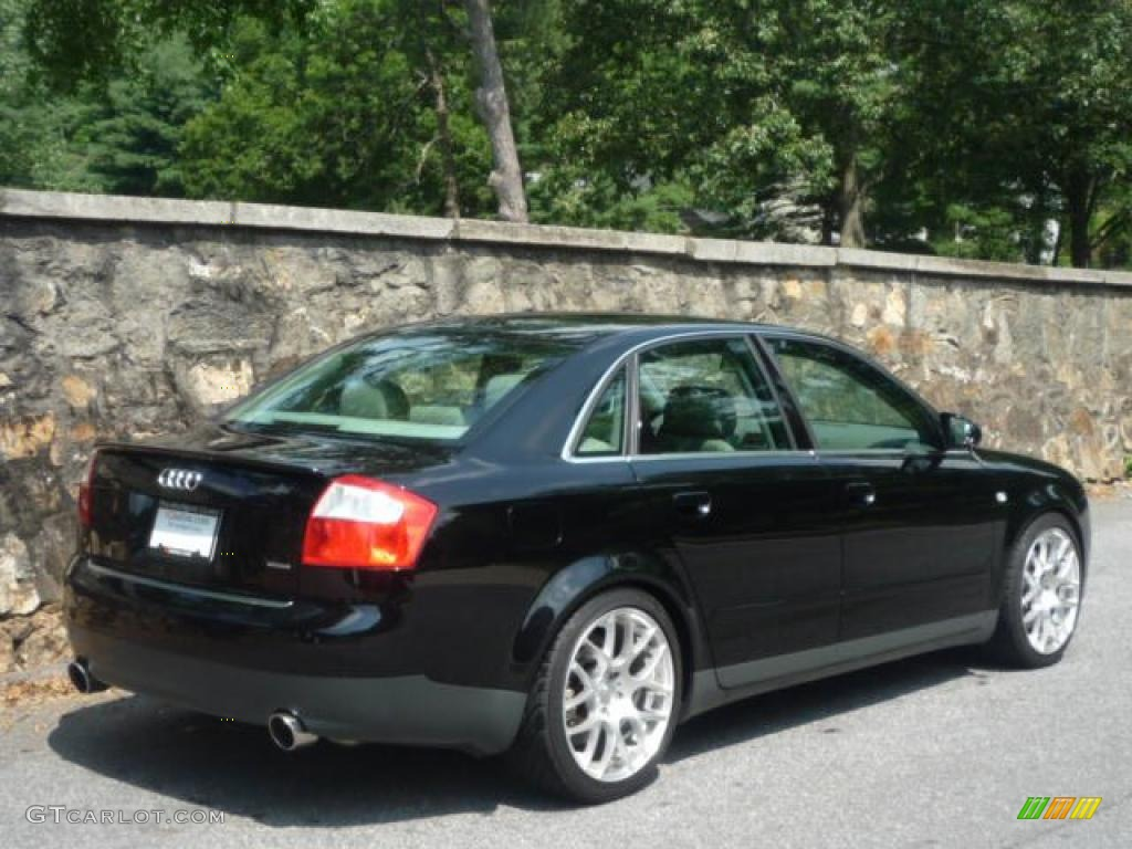 2003 brilliant black audi a4 3 0 quattro sedan 31204170. Black Bedroom Furniture Sets. Home Design Ideas