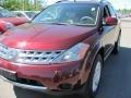 2007 Merlot Pearl Nissan Murano S AWD  photo #1