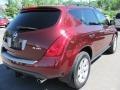 2007 Merlot Pearl Nissan Murano S AWD  photo #2