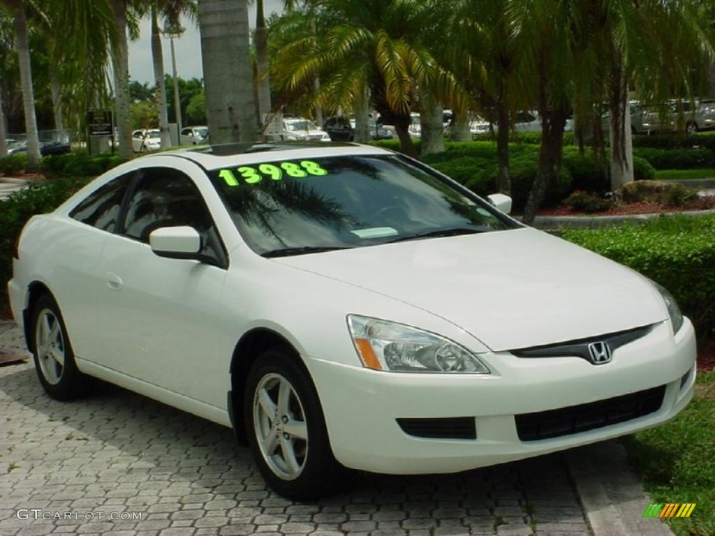 2003 Taffeta White Honda Accord Ex L Coupe 31256274