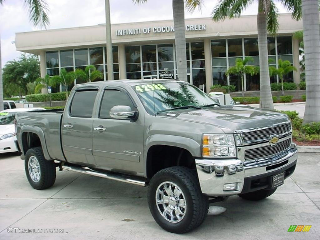 Graystone metallic chevrolet silverado 2500hd