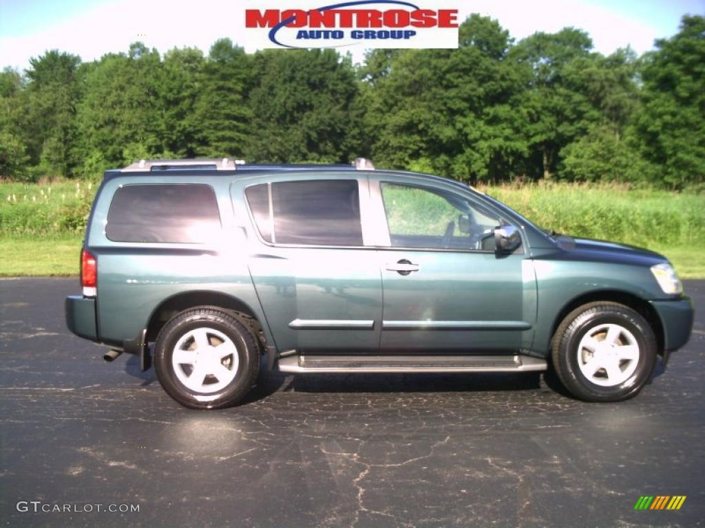 2004 deep water blue metallic nissan armada se 4x4 31257089 deep water blue metallic nissan armada vanachro Images