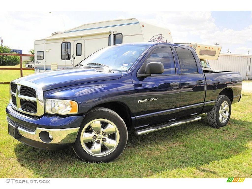2004 patriot blue pearl dodge ram 1500 slt quad cab 31256829 car color galleries. Black Bedroom Furniture Sets. Home Design Ideas