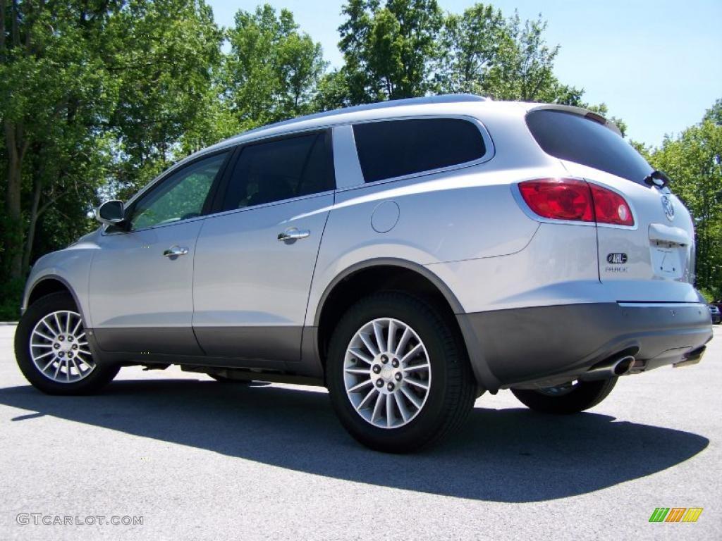 2010 Enclave CXL AWD - Quicksilver Metallic / Titanium/Dark Titanium photo #4