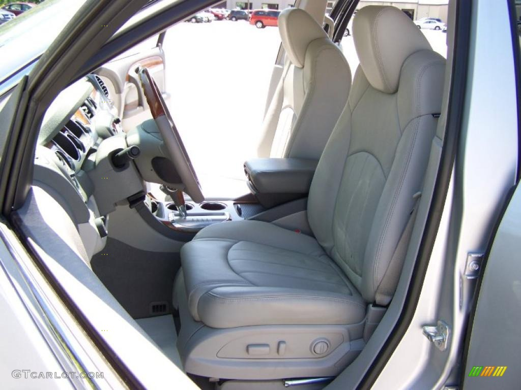 2010 Enclave CXL AWD - Quicksilver Metallic / Titanium/Dark Titanium photo #9
