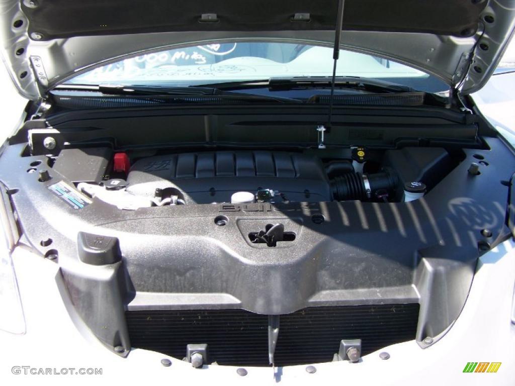 2010 Enclave CXL AWD - Quicksilver Metallic / Titanium/Dark Titanium photo #19