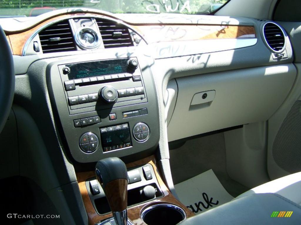 2010 Enclave CXL AWD - Quicksilver Metallic / Titanium/Dark Titanium photo #22