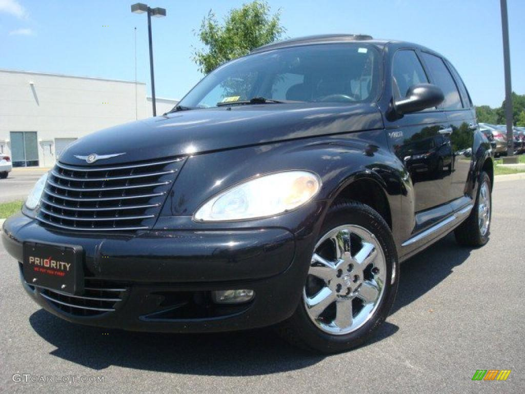 2005 black chrysler pt cruiser limited turbo 31256615. Black Bedroom Furniture Sets. Home Design Ideas