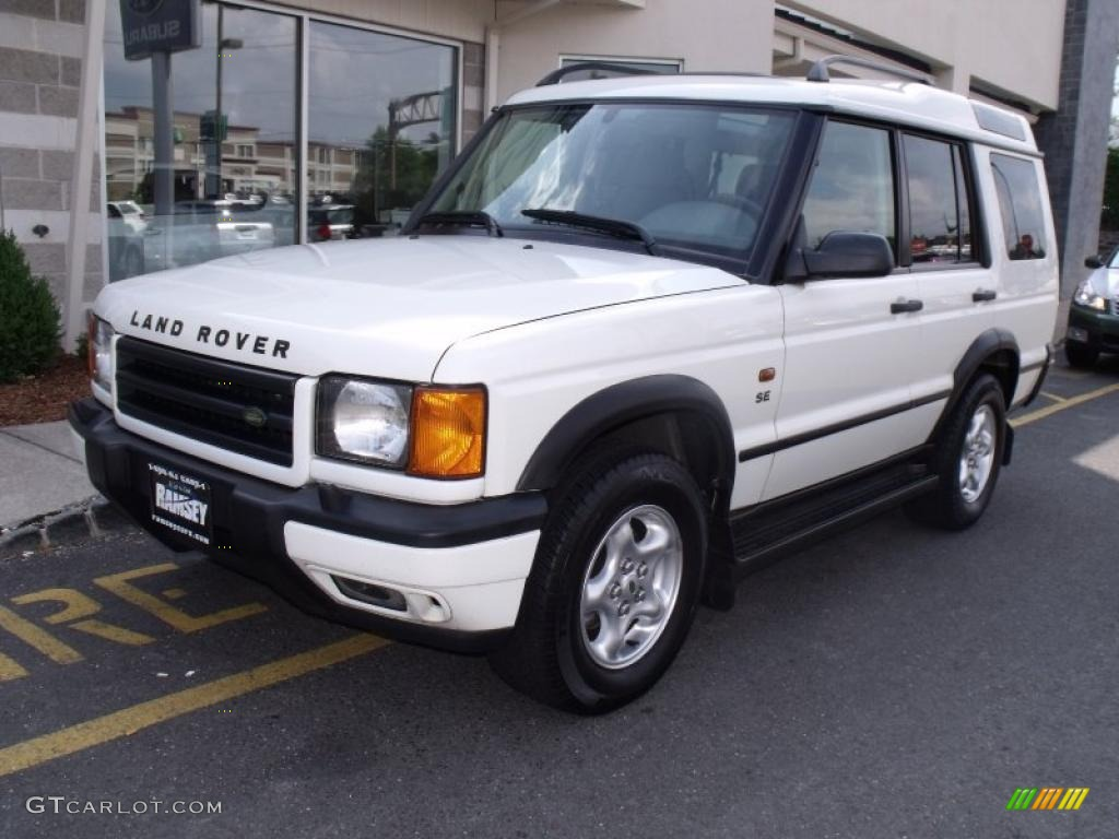 2001 Chawton White Land Rover Discovery Ii Se 31257168 Car Color Galleries