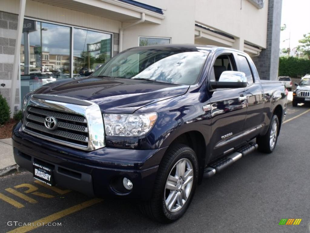 2008 nautical blue metallic toyota tundra limited double cab 4x4 31257169 car. Black Bedroom Furniture Sets. Home Design Ideas