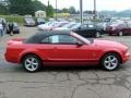 2007 Torch Red Ford Mustang V6 Premium Convertible  photo #5
