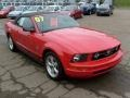2007 Torch Red Ford Mustang V6 Premium Convertible  photo #6