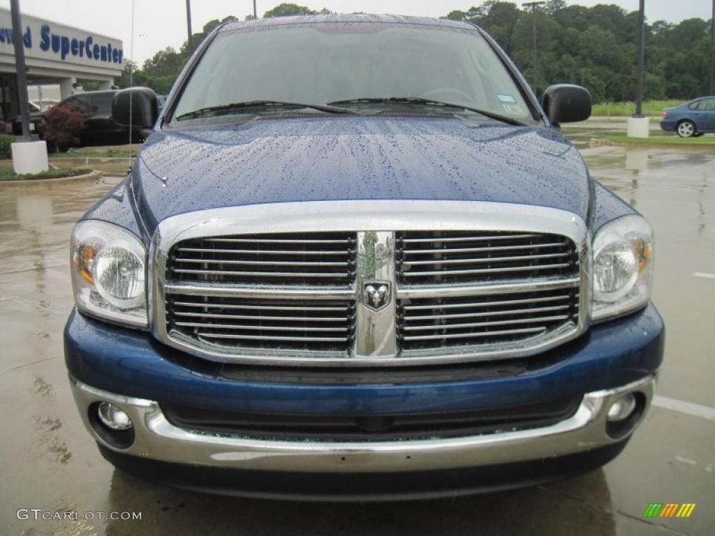 2008 electric blue pearl dodge ram 1500 big horn edition quad cab 31256946 photo 5 gtcarlot. Black Bedroom Furniture Sets. Home Design Ideas