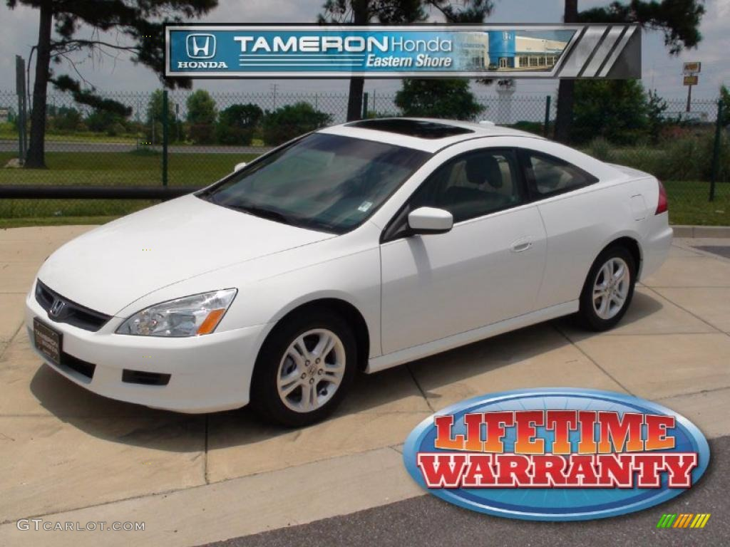 2007 Taffeta White Honda Accord Ex L Coupe 31257234