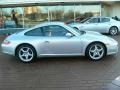 Arctic Silver Metallic - 911 Carrera Coupe Photo No. 4