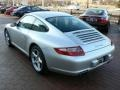 Arctic Silver Metallic - 911 Carrera Coupe Photo No. 16