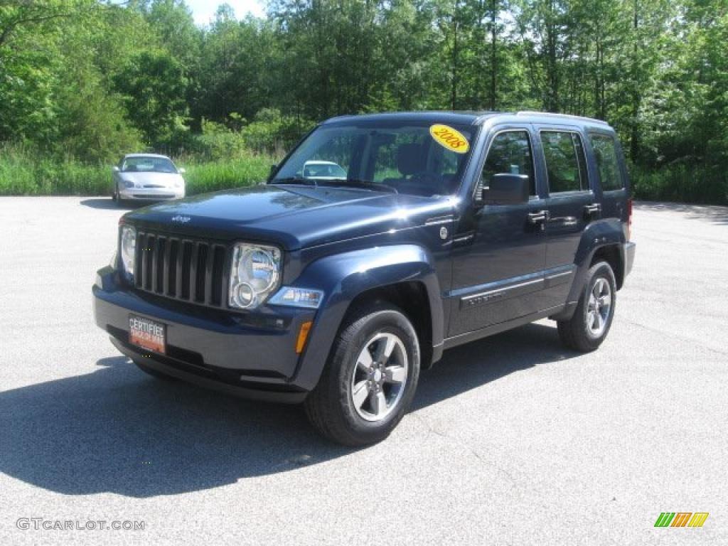 2008 modern blue pearl jeep liberty sport 4x4 #31332250 | gtcarlot
