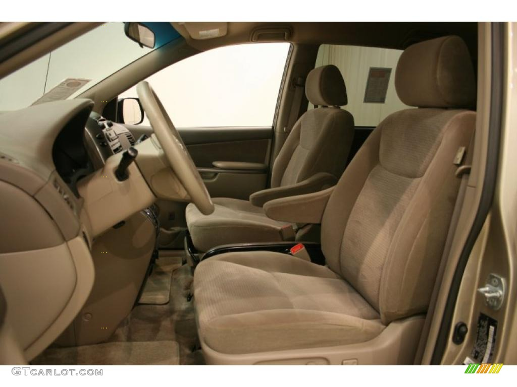 2007 Desert Sand Mica Toyota Sienna Le 31332252 Photo 9 Car Color Galleries