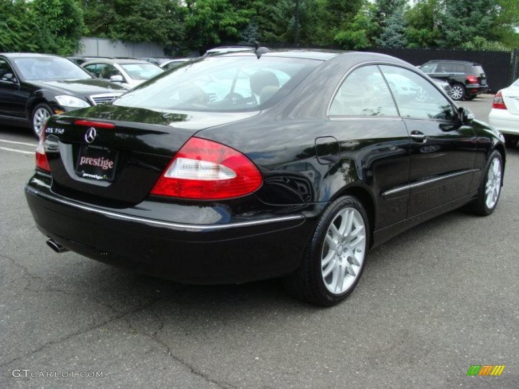 2008 obsidian black metallic mercedes benz clk 350 coupe for 2008 mercedes benz clk 350
